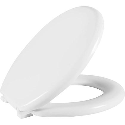 Assento Sanitario Almofadado Oval Branco Astra Tpk