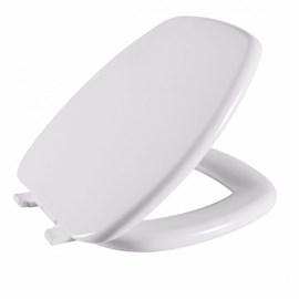 Assento Sanitário Almofadado Stylus Laguna Astra para Louça Celite Branco
