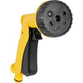 Esguicho pistola plástico múltiplo 6 posições com botão trava - Vonder