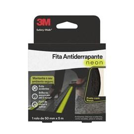 Fita Antiderrapante Fosforescente Neon 50mmX5m - Safety-Walk 3M