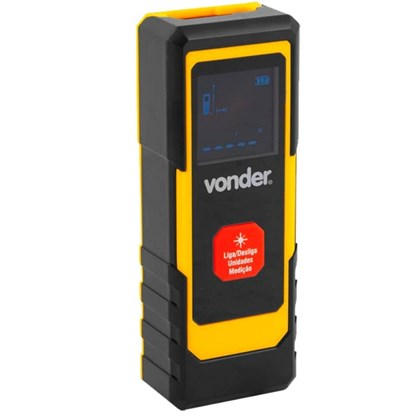 Medidor De Distância A Laser Vd20  Vonder