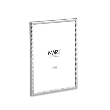 Porta Retrato Prata em Metal 10x15 - Mart