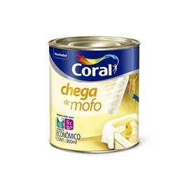 Tinta Acrílica Chega De Mofo Ou Anti Mofo Branco 0,9L Coral
