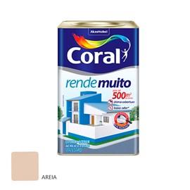 Tinta Acrílica Fosca Rende Muito Coral 18l - Perola