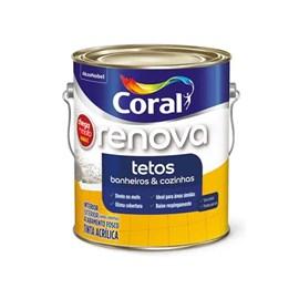 Tinta Coral Renova Tetos E Banheiros Br 3,6l Direto No Mofo
