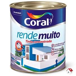 Tinta Para Parede Rende Muito Fosca Branco Gelo Coral 900ml